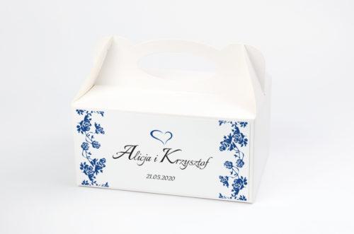 Plastikowe pudełko na ciasto